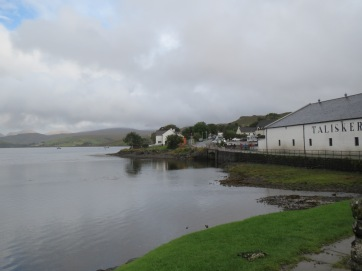 Talisker Distillery on Loch Harport (looking east-ish)
