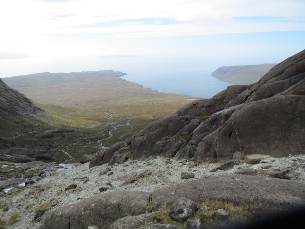 The view from Coire Lagan