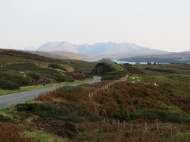 The Cuillin from afar