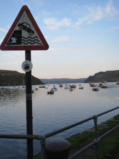 The port in Portree