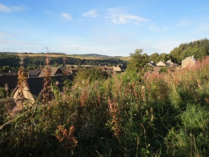 Aberlour (the town) from above