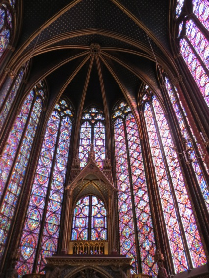 Sainte-Chapelle: Difficult to really capture it